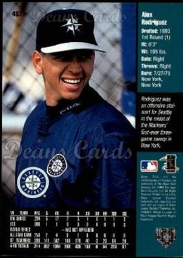 1998 Upper Deck #457  Alex Rodriguez
