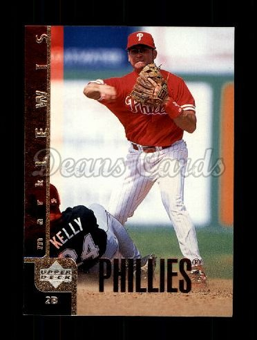 1998 Upper Deck #712  Mark Lewis