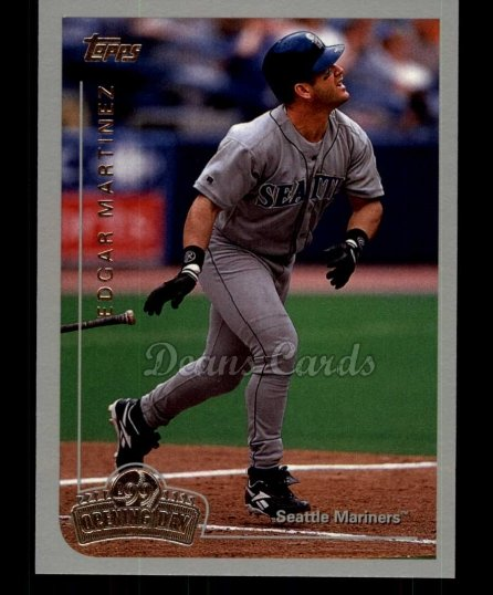 1999 Topps Opening Day #100  Edgar Martinez