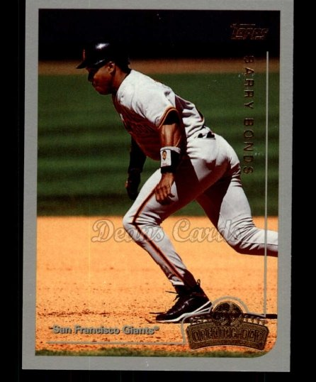 1999 Topps Opening Day #129  Barry Bonds