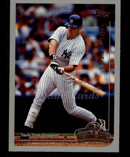 1999 Topps Opening Day #133  Paul O'Neill
