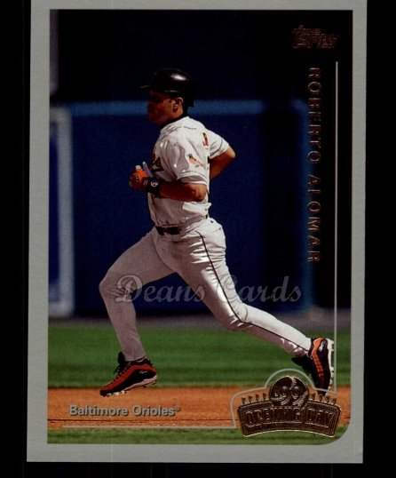 1999 Topps Opening Day #140  Roberto Alomar