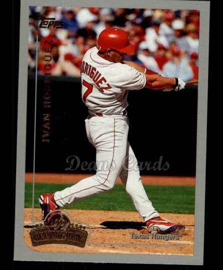 1999 Topps Opening Day #147  Ivan Rodriguez