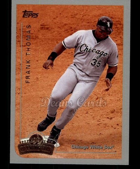1999 Topps Opening Day #156  Frank Thomas