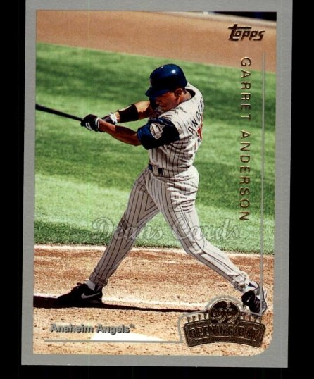 1999 Topps Opening Day #32  Garret Anderson