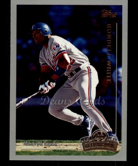 1999 Topps Opening Day #33  Rondell White