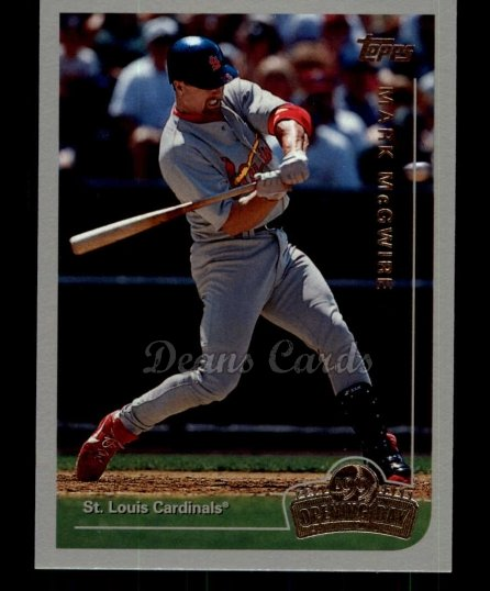 1999 Topps Opening Day #39  Mark McGwire