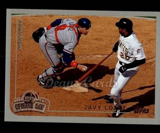 1999 Topps Opening Day #40  Javy Lopez