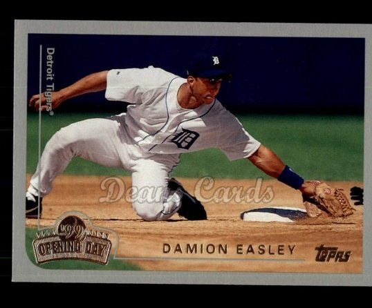 1999 Topps Opening Day #41  Damion Easley