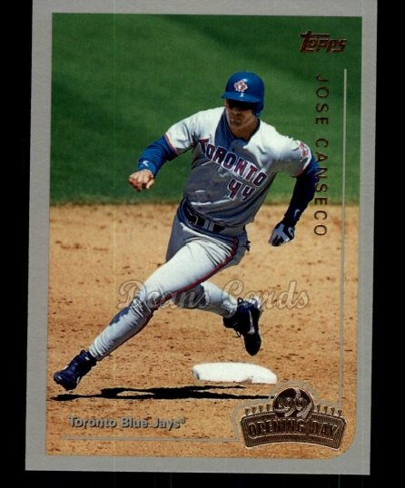 1999 Topps Opening Day #45  Jose Canseco