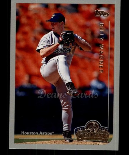 1999 Topps Opening Day #62  Billy Wagner