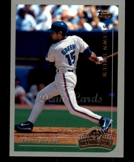 1999 Topps Opening Day #63  Shawn Green