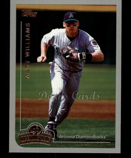1999 Topps Opening Day #70  Matt Williams