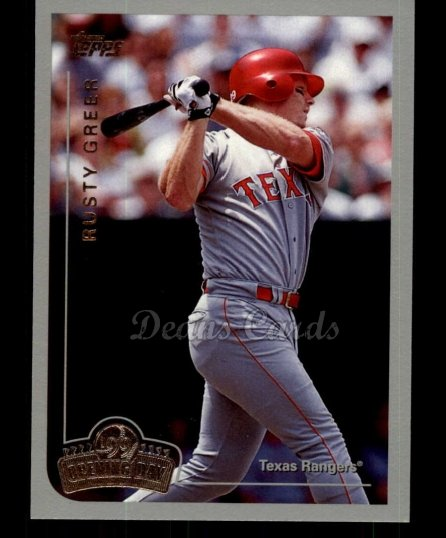 1999 Topps Opening Day #75  Rusty Greer