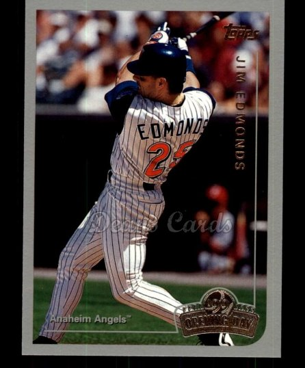 1999 Topps Opening Day #76  Jim Edmonds