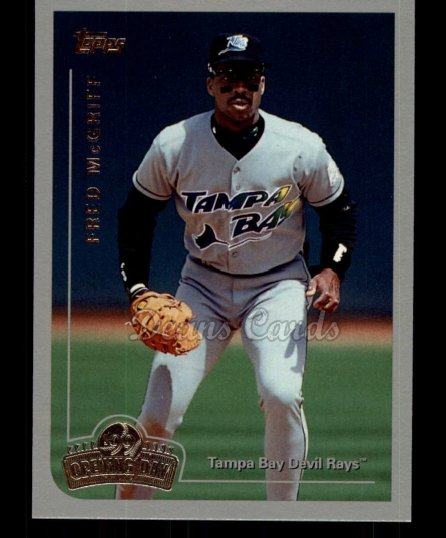 1999 Topps Opening Day #82  Fred McGriff