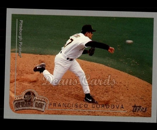 1999 Topps Opening Day #97  Francisco Cordova