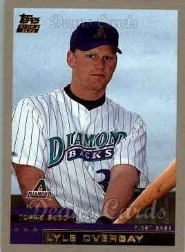 2000 Topps Traded #15 T Lyle Overbay