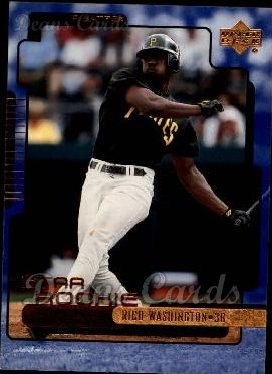 2000 Upper Deck #287  Rico Washington