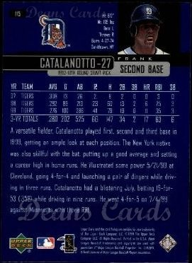 2000 Upper Deck #115  Frank Catalanotto