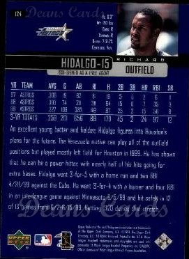 2000 Upper Deck #124  Richard Hidalgo