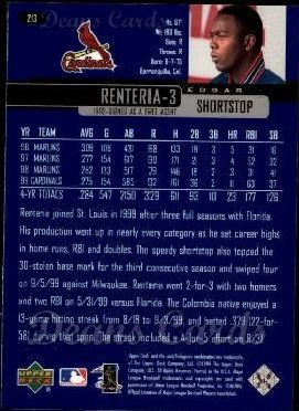 2000 Upper Deck #213  Edgar Renteria