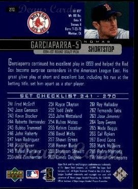 2000 Upper Deck #270   -  Nomar Garciaparra Season Highlights