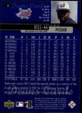 2000 Upper Deck #31  Ken Hill