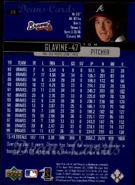 2000 Upper Deck #315  Tom Glavine
