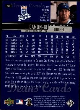 2000 Upper Deck #400  Johnny Damon
