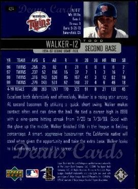 2000 Upper Deck #424  Todd Walker