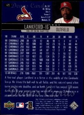2000 Upper Deck #472  Ray Lankford