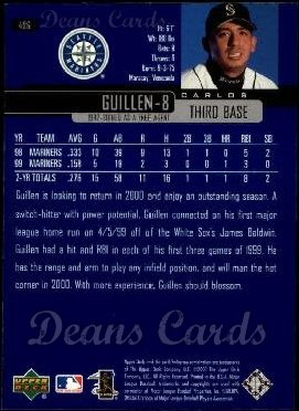2000 Upper Deck #496  Carlos Guillen