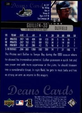 2000 Upper Deck #508  Jose Guillen