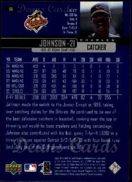 2000 Upper Deck #56  Charles Johnson