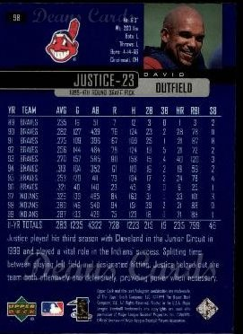 2000 Upper Deck #91  Jeffrey Hammonds