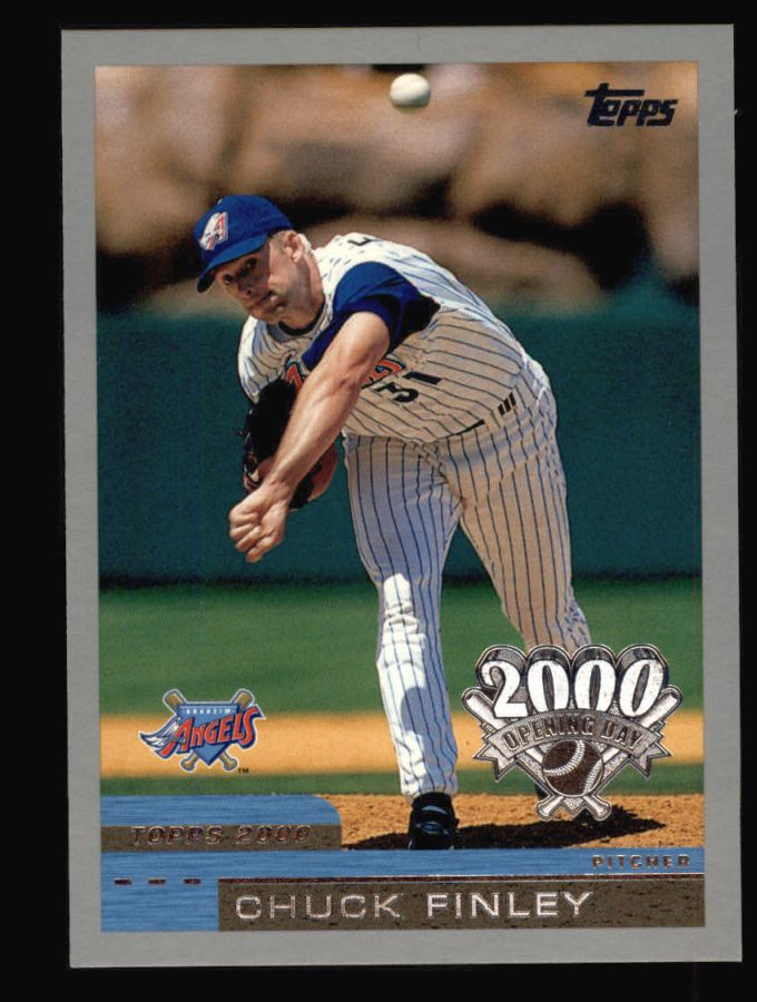 2000 Topps Opening Day #56  Chuck Finley