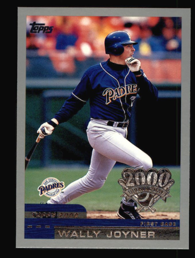2000 Topps Opening Day #82  Wally Joyner