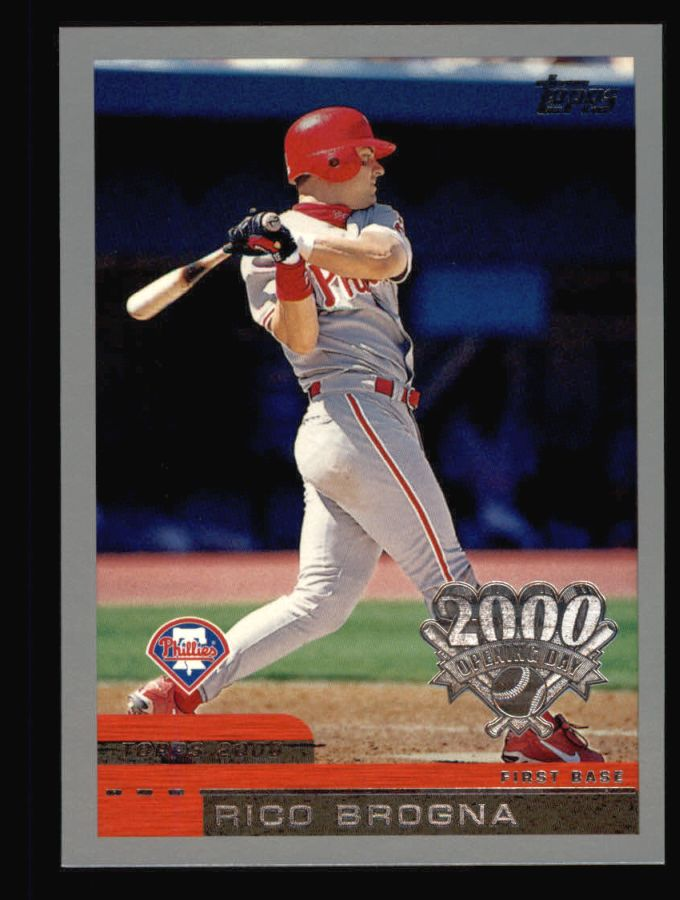 2000 Topps Opening Day #119  Rico Brogna
