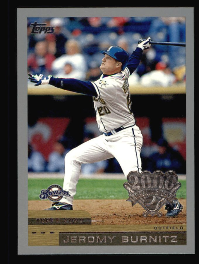 2000 Topps Opening Day #121  Jeromy Burnitz
