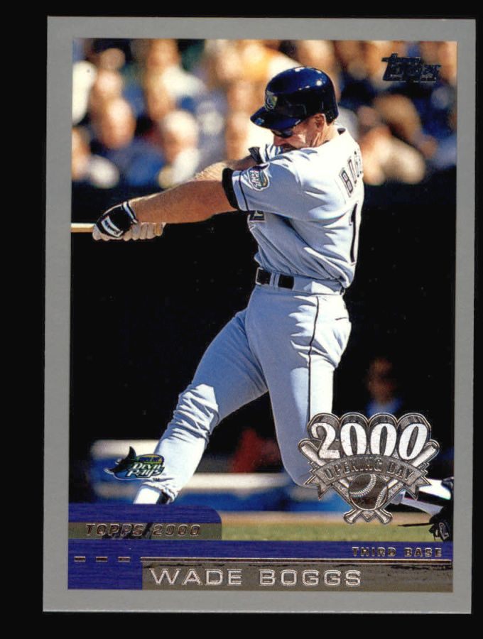 2000 Topps Opening Day #3  Wade Boggs