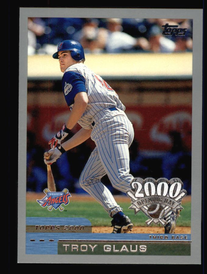 2000 Topps Opening Day #40  Troy Glaus