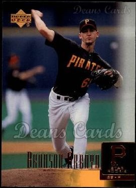 2001 Upper Deck #21  Bronson Arroyo