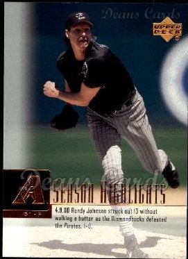 2001 Upper Deck #269   -  Randy Johnson Season Highlights