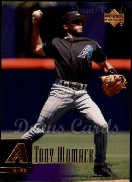 2001 Upper Deck #395  Tony Womack