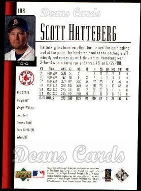 2001 Upper Deck #108  Scott Hatteberg
