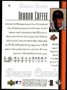 2001 Upper Deck #14  Ivanon Coffie