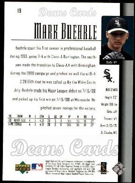 2001 Upper Deck #19  Mark Buehrle
