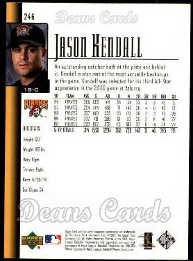 2001 Upper Deck #246  Jason Kendall