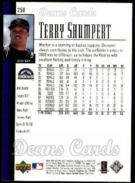 2001 Upper Deck #258  Terry Shumpert